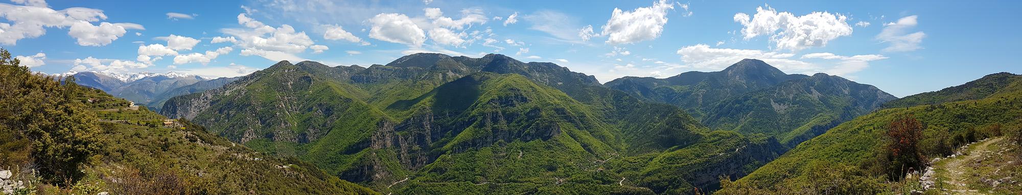 Randonnée gorges de la Vésubie panoramique