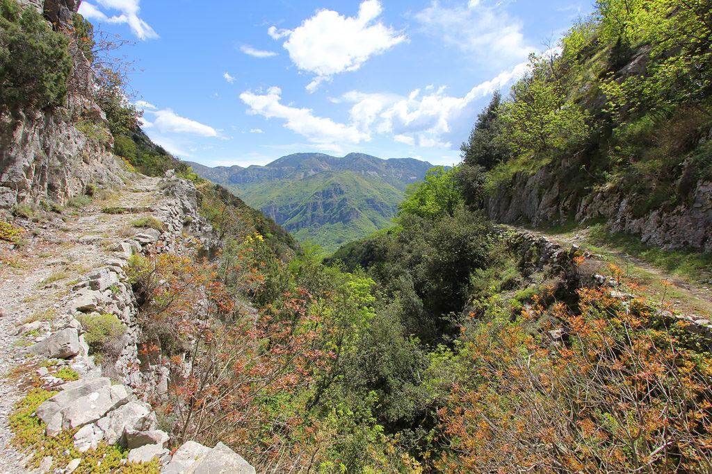 Randonnée gorges de la Vésubie