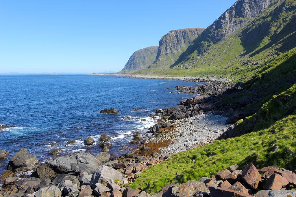 Randonnée Eggum Unstad Norvège