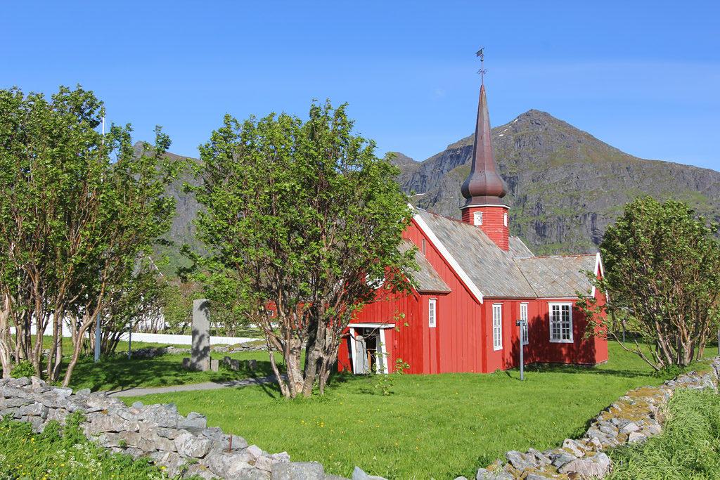 Eglise Flakstad Lofoten