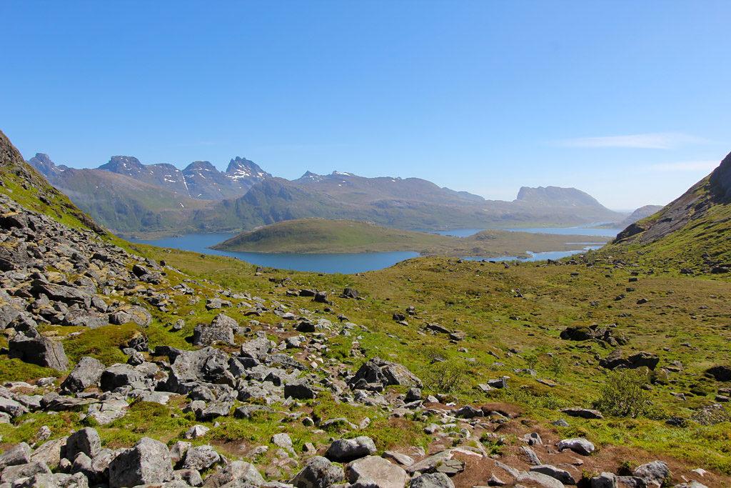 Randonnée Kvalvika Lofoten