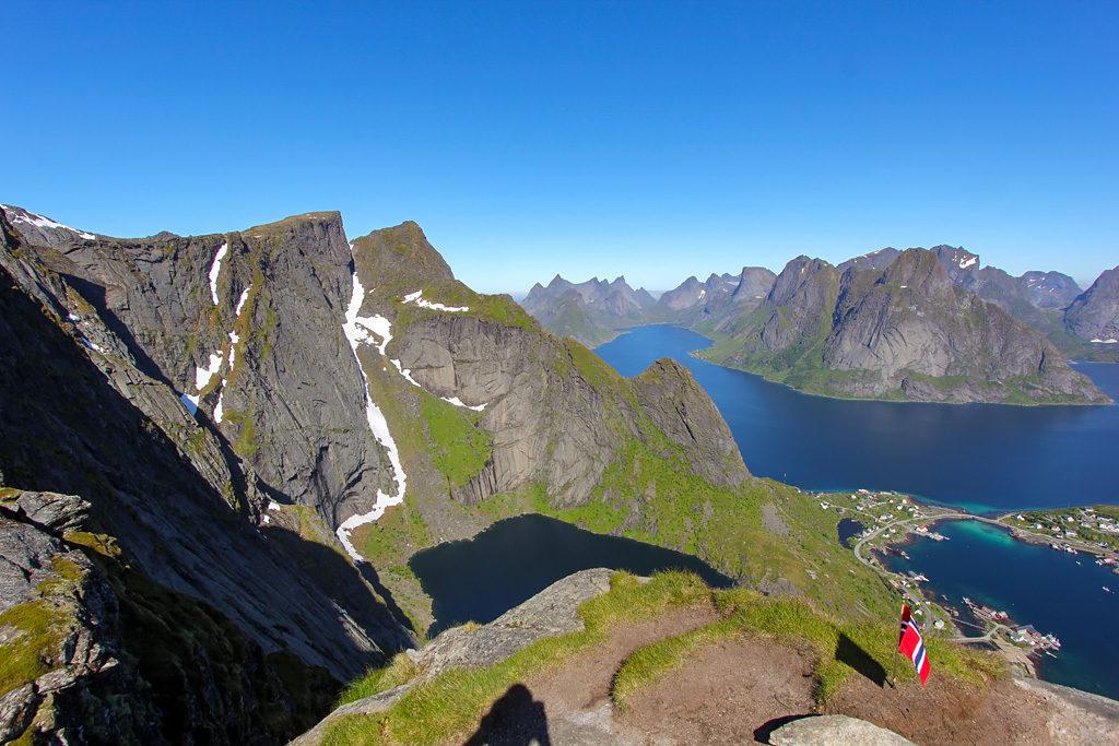 Point de vue randonnée Reinebringen