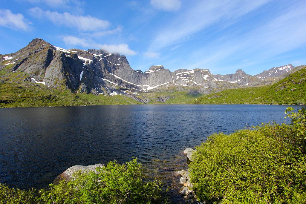 Route Nusfjord Lofoten