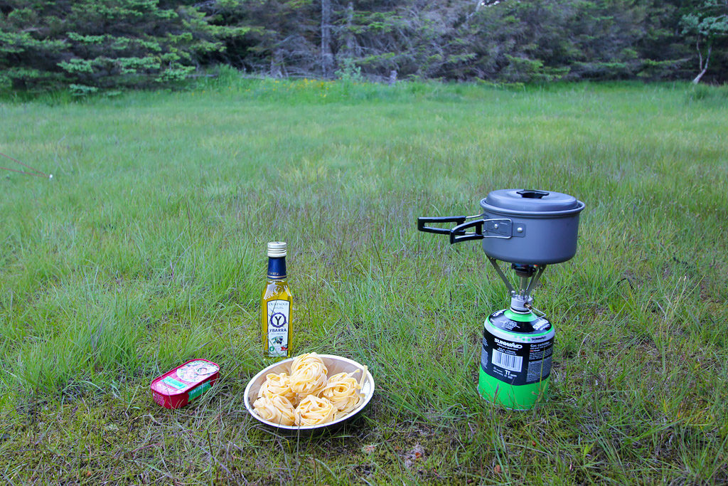 Cuisine camping Norvège