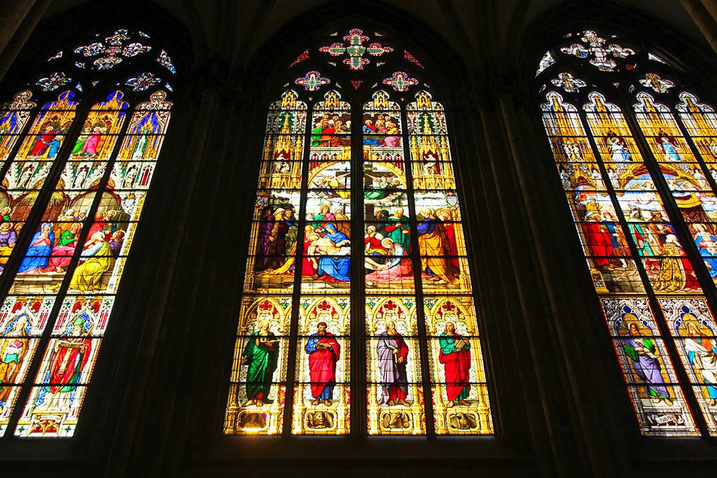 Cologne cathédrale vitraux