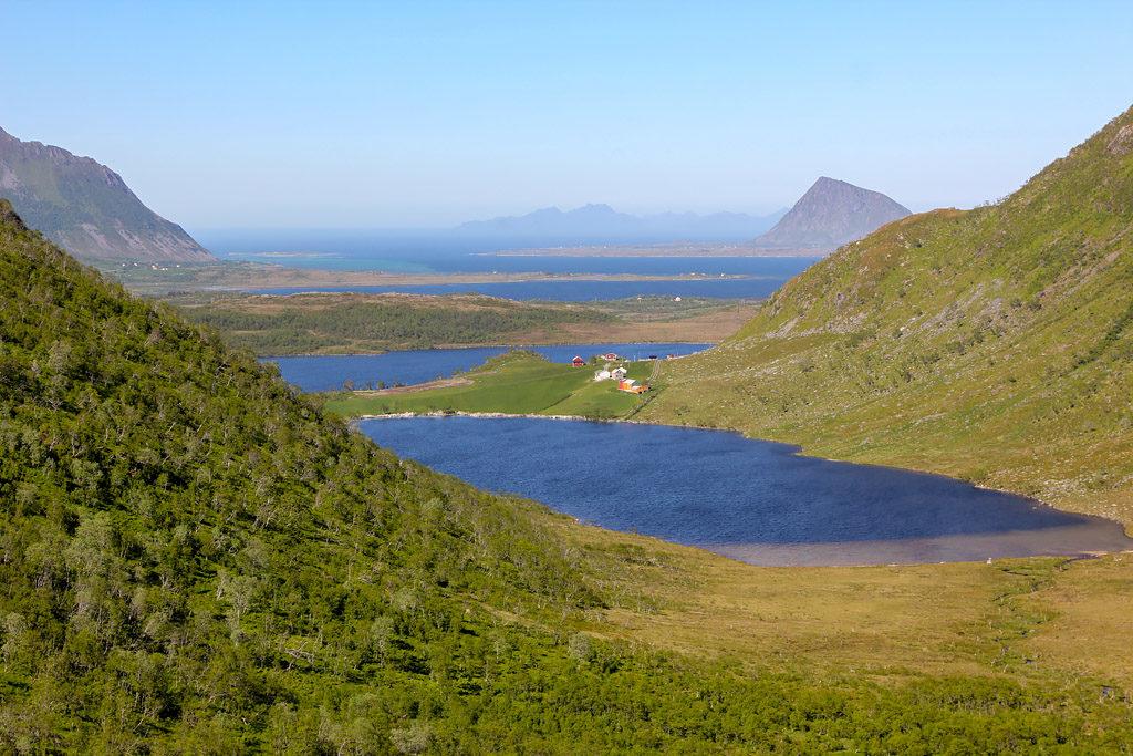 Randonnée de Blaheia road trip Lofoten