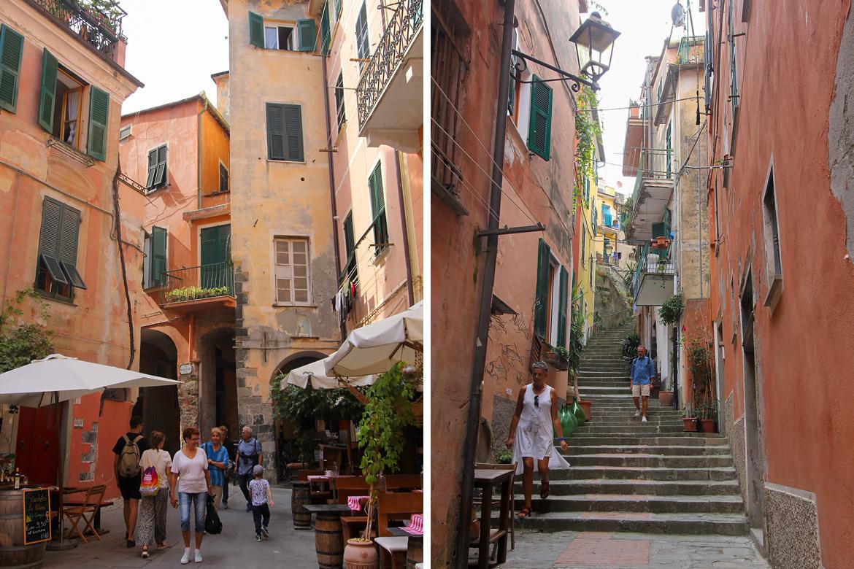 Ruelle village Monterosso Cinque Terre