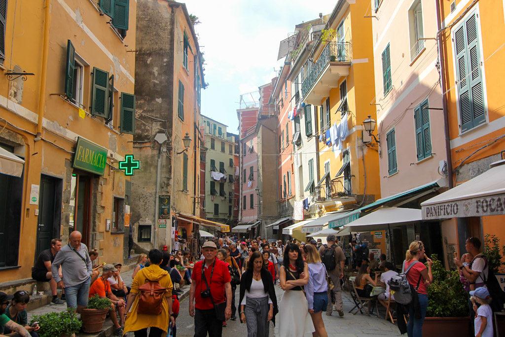 Rue Vernazza Cinque Terre