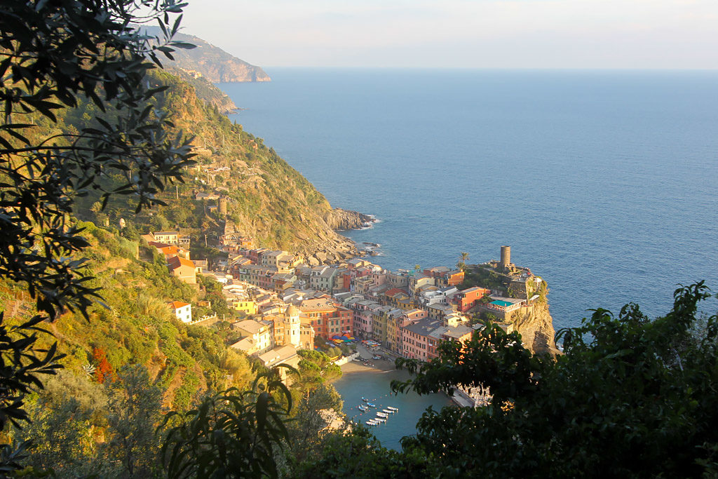 Point de vue randonnée Vernazza Monterosso