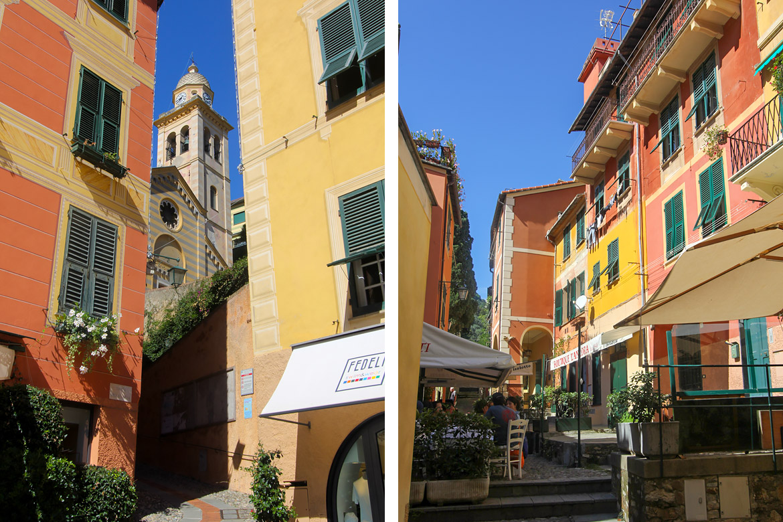 Ruelles Portofino Italie