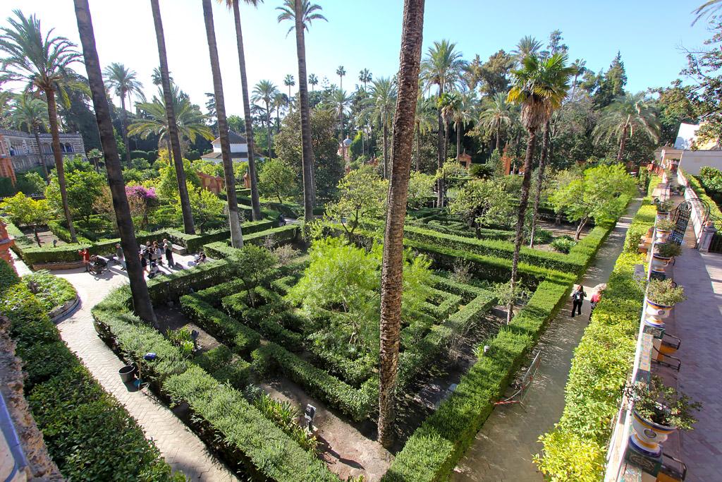 Jardin Alcazar Seville