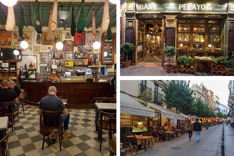Bar à tapas Espagne