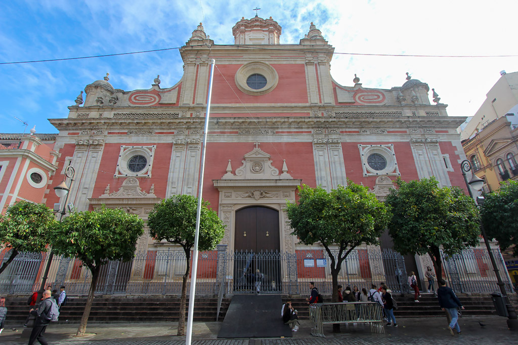 Eglise quartier Centro de Séville