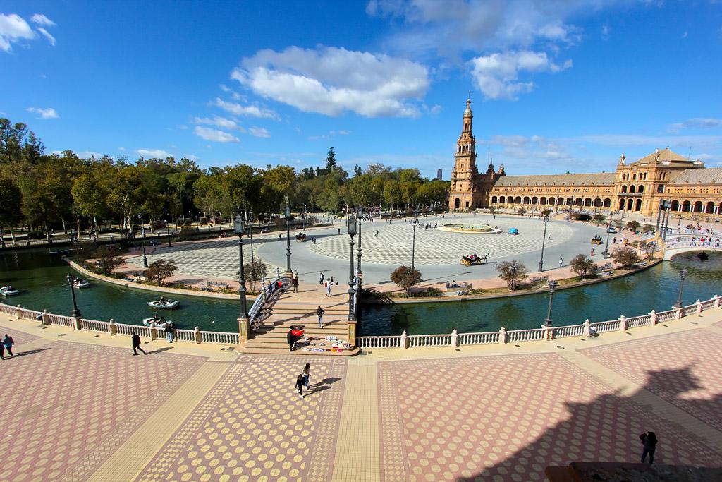 Plaza de España (Place d'Espagne) - Séville