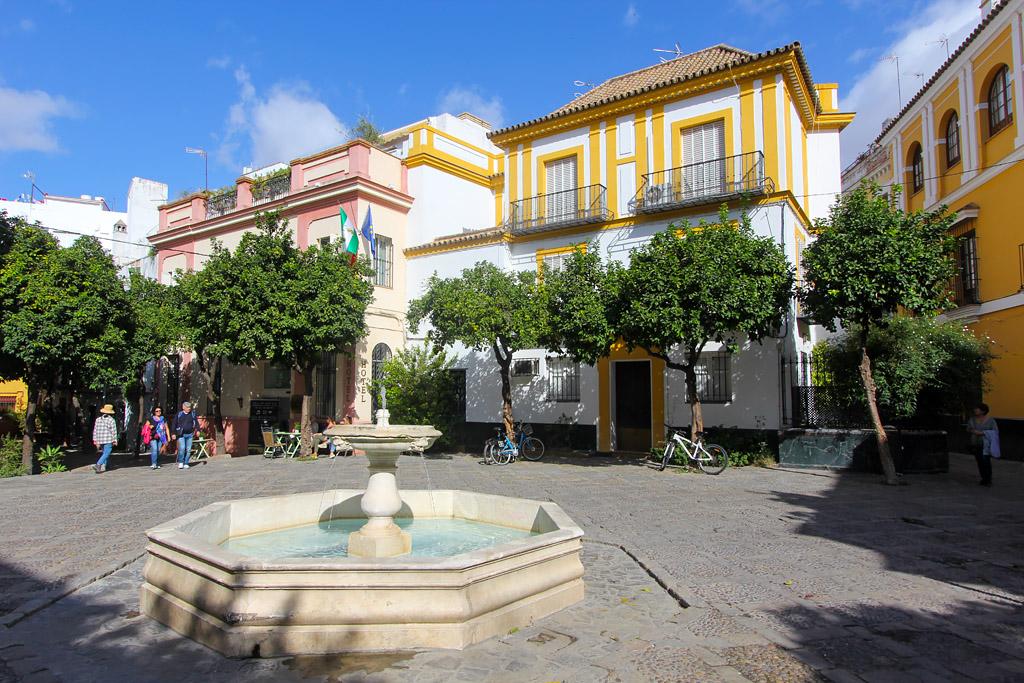 Visiter Séville quartier Santa Cruz