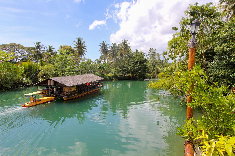 Croisière rivière Loboc à Bohol