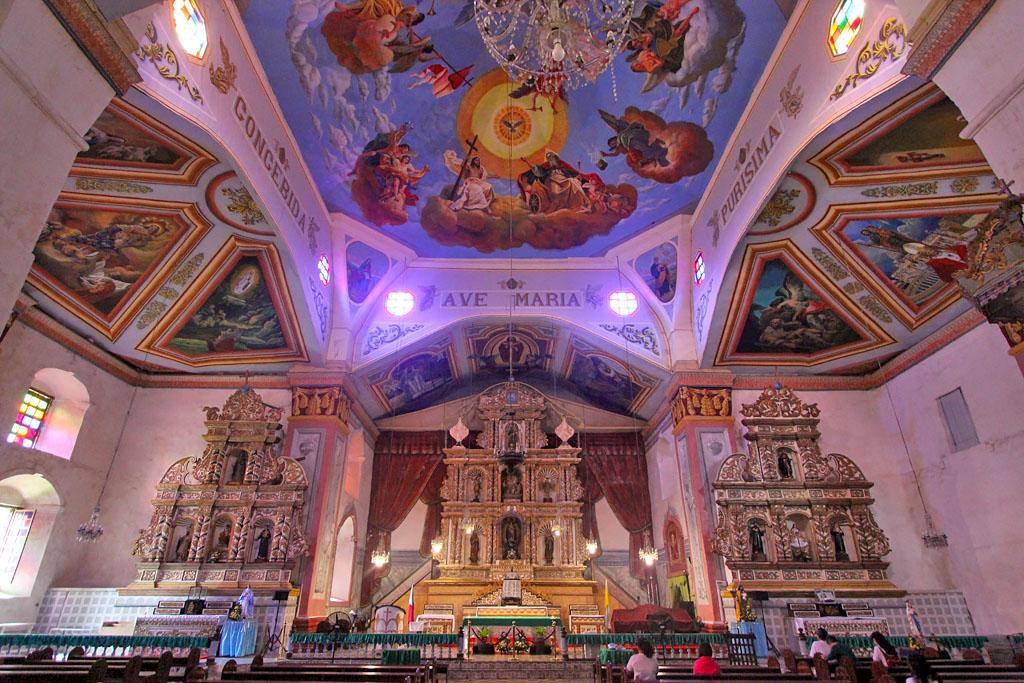 Bohol église Baclayon