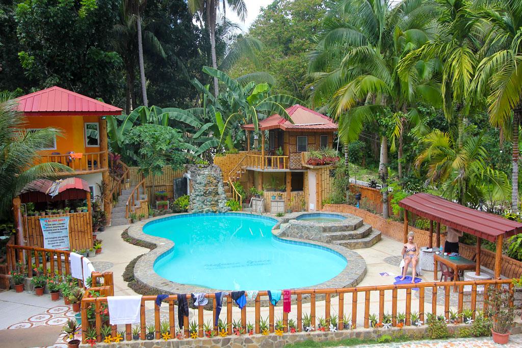 Bohol piscine hotel Stefanie grace inn