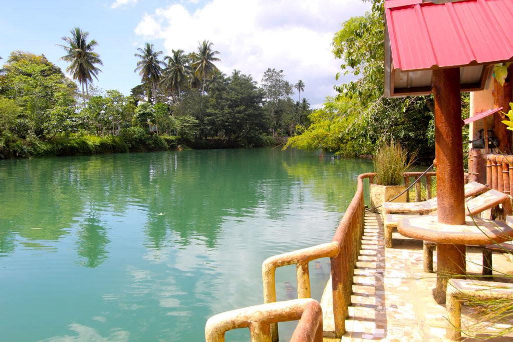 Bohol rivière Loboc