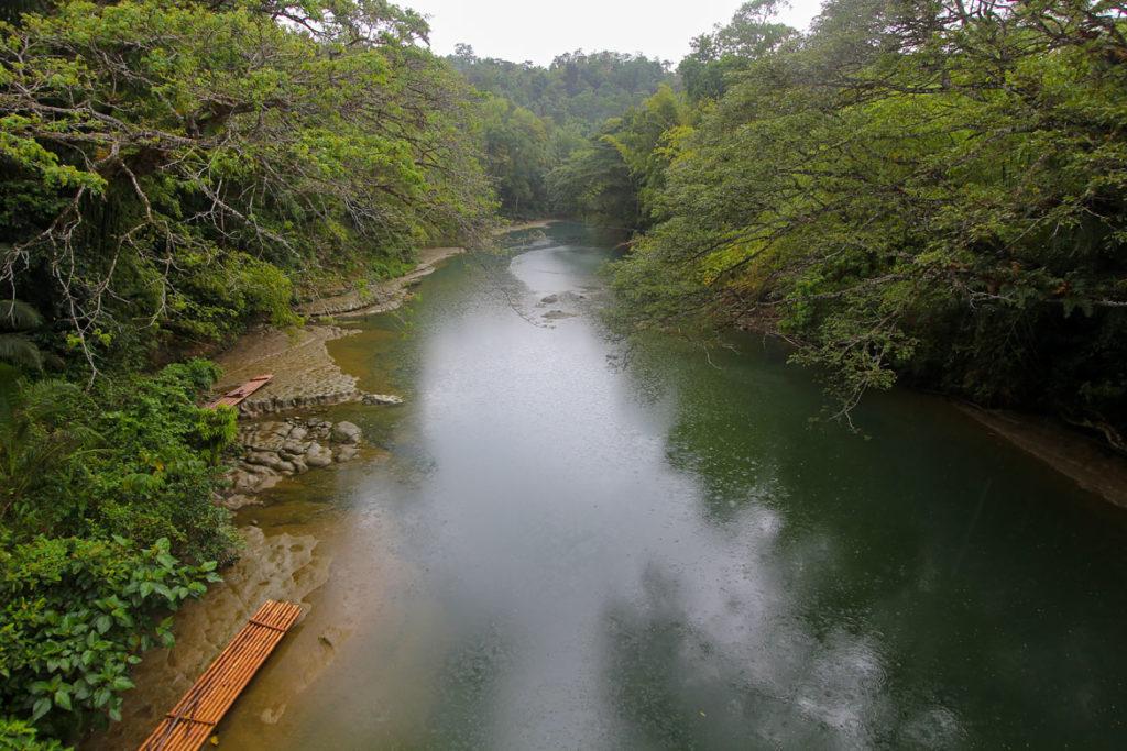 Bohol pont bambou riviere loboc