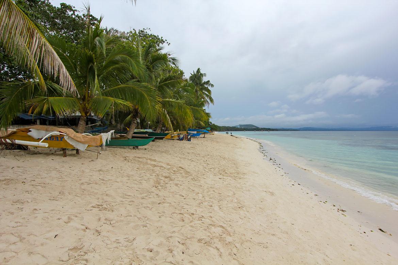Plage Dumaluan beach Panglao