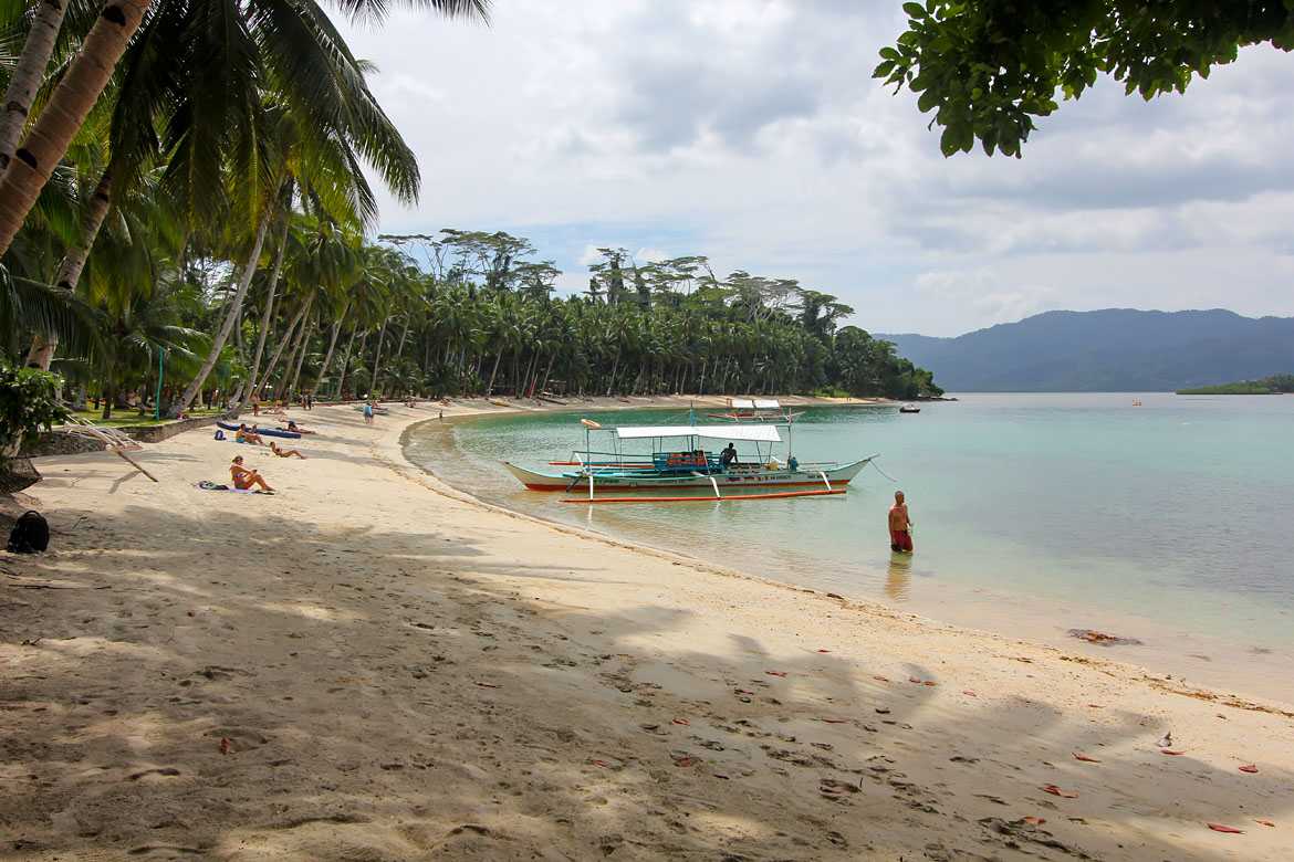 White Beach Port Barton Philippines