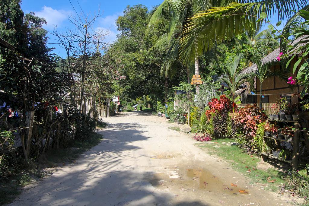 Rue de Port Barton Philippines
