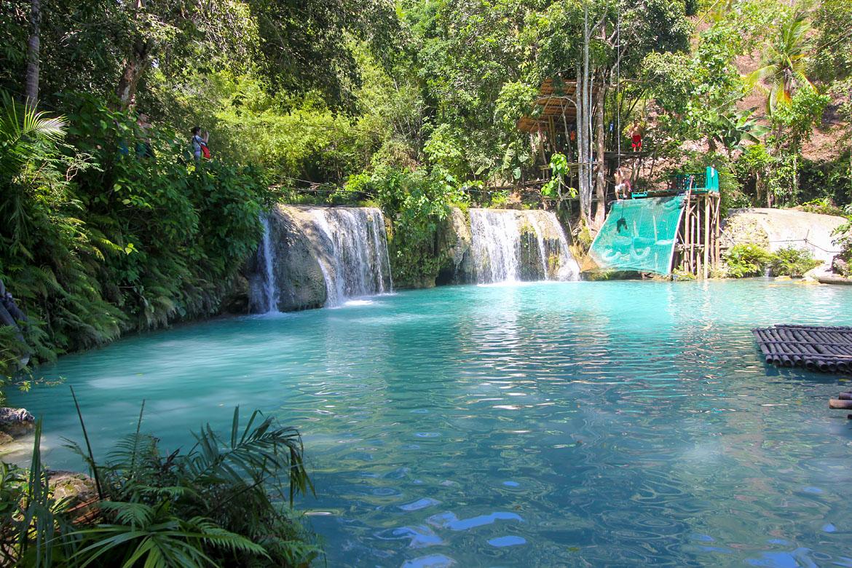 Cascade Cambugahay Falls Siquijor