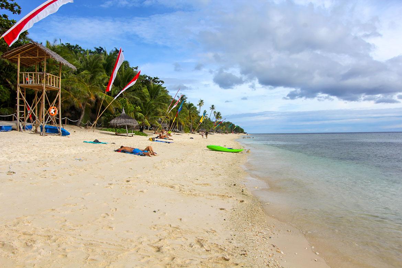 Siquijor plage tubod beach