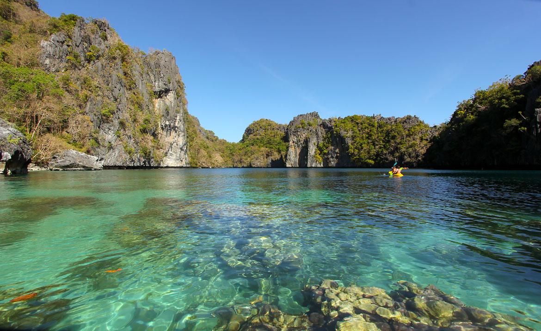 Philippines El Nido big lagoon