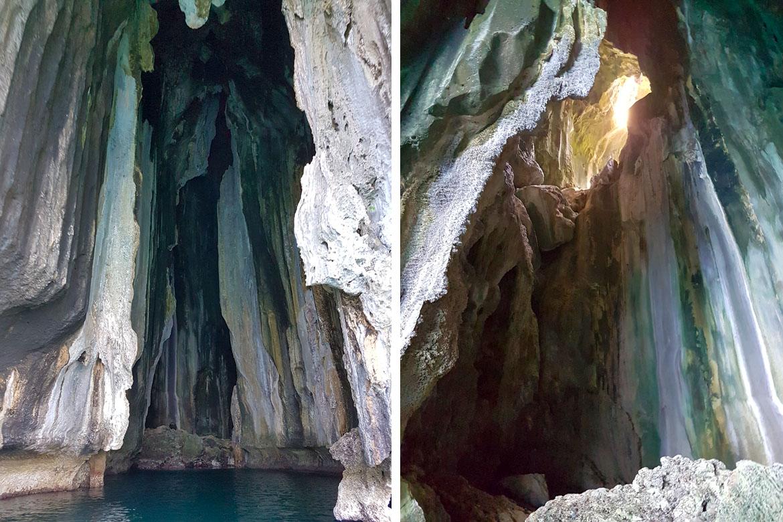 Philippines El Nido cathedral cave