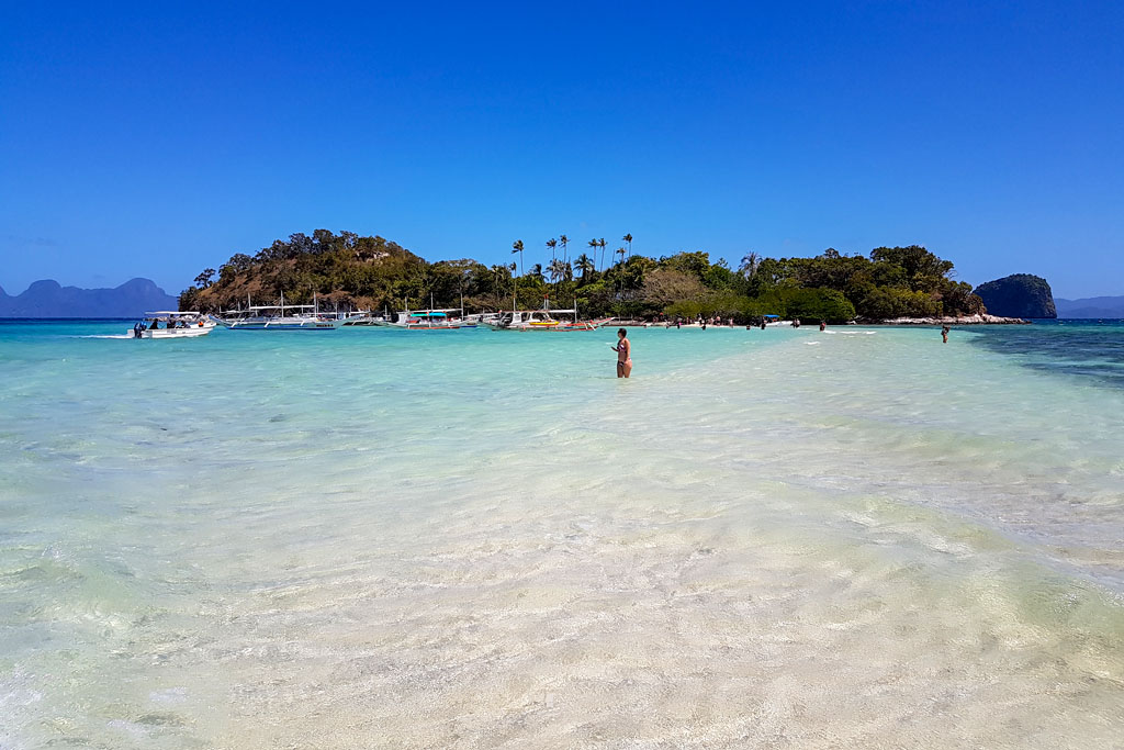 El Nido snake island sand bar