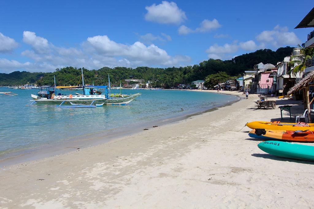Plage El Nido Palawan Philippines