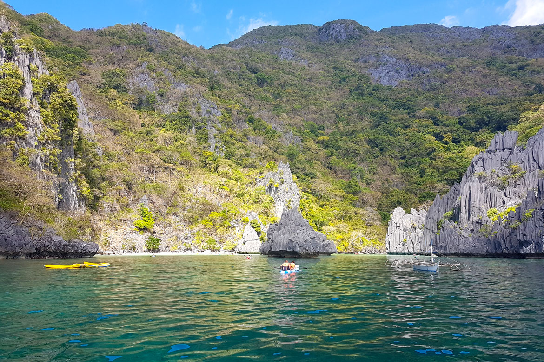 El Nido cadlao lagoon Philippines