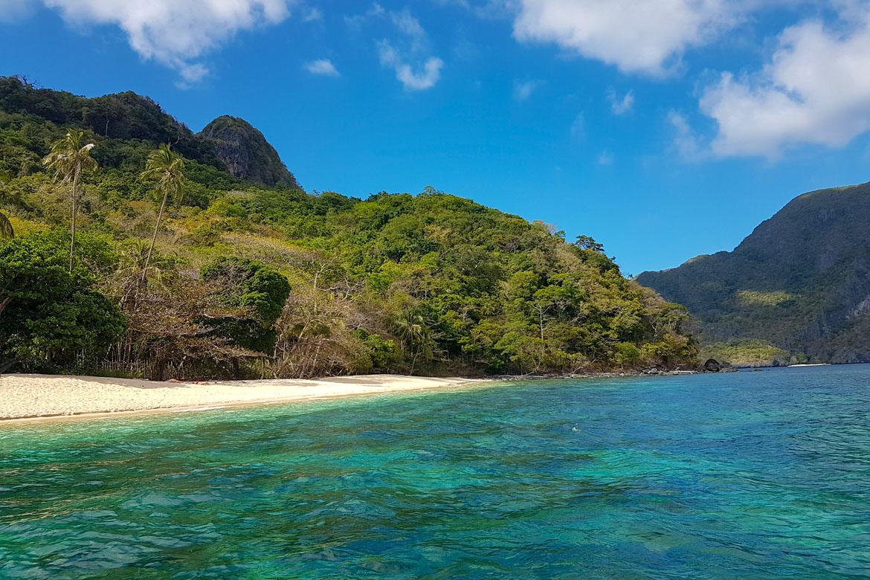 El Nido helicopter island beach Philippines