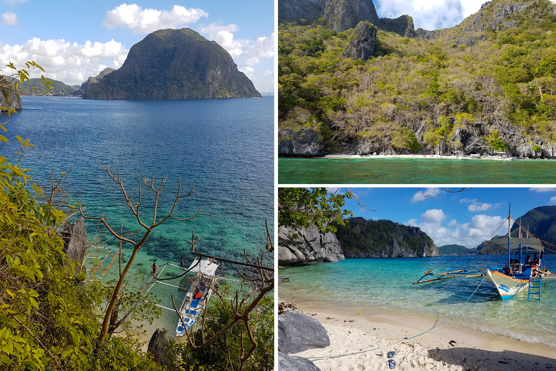 El Nido paradise beach Philippines
