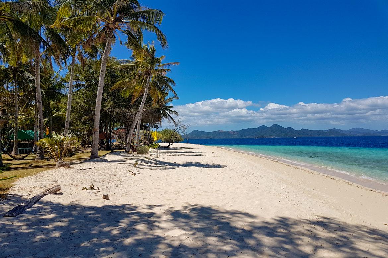 Banana island Coron Philippines