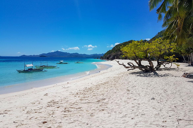 Malcapuya island Coron Philippines