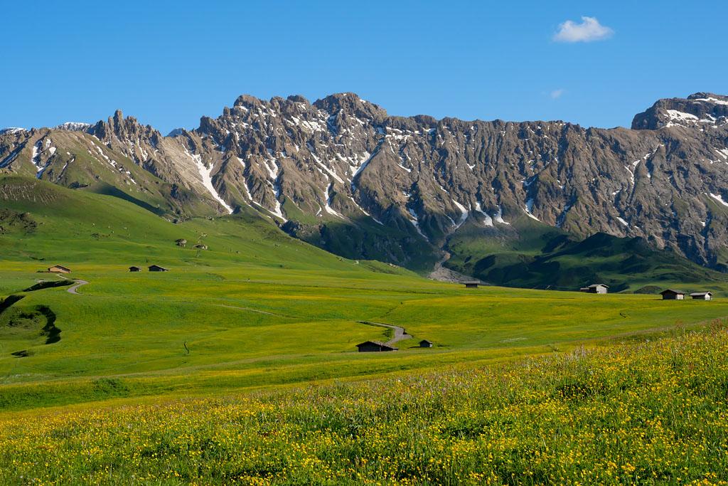 Alpi di Siusi Dolomites Italie