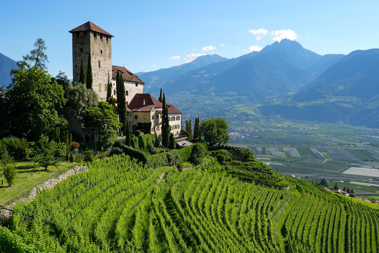 Château Lebenberg Merano Italie