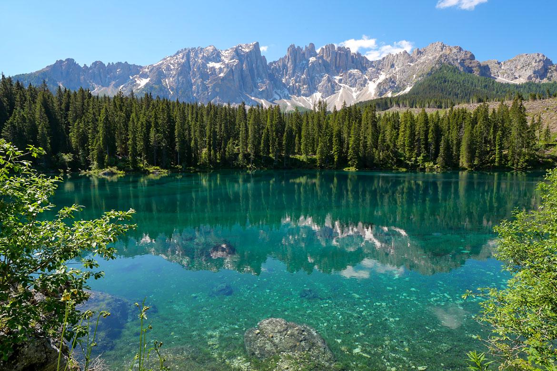 Lago di Carezza Dolomites Italie