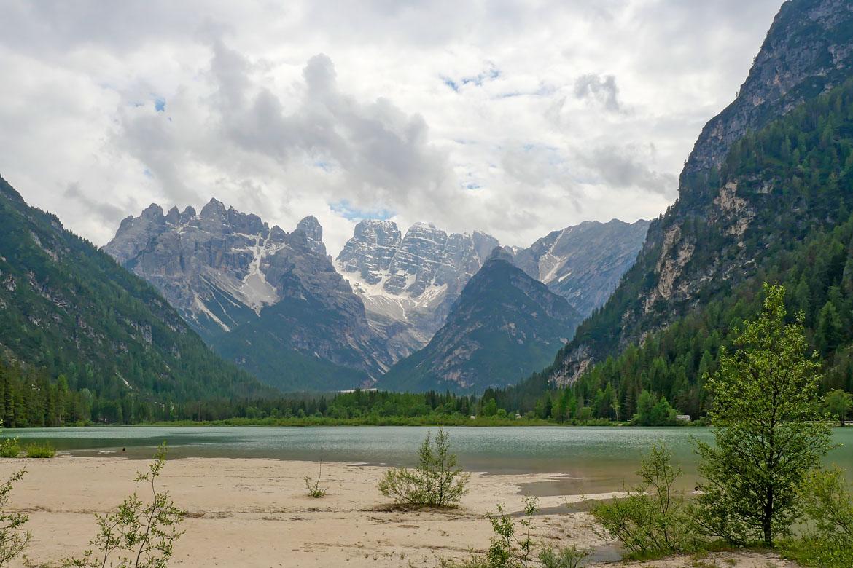 Lago di Landro road trip Dolomites Italie