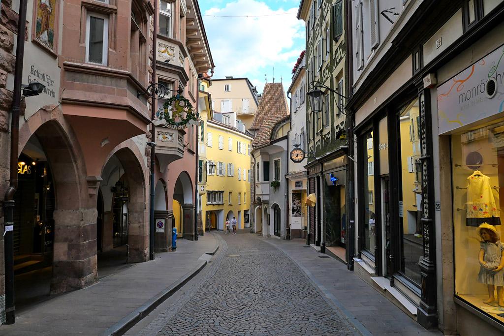 Vieille ville Merano Italie