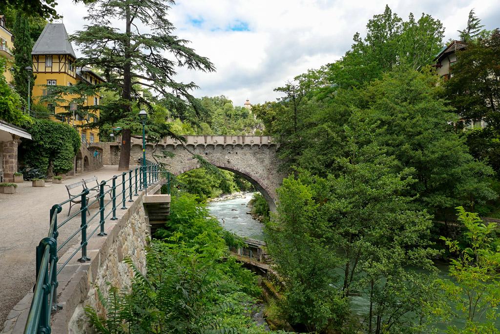 Merano rivière Passer Italie