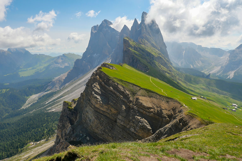 Seceda Dolomites Italie