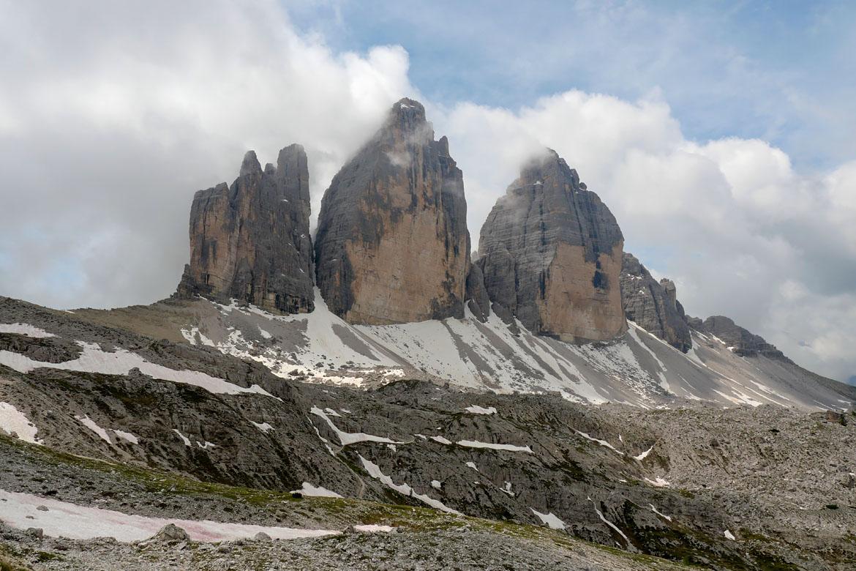Randonnée Tre Cime di Lavaredo Dolomites Italie
