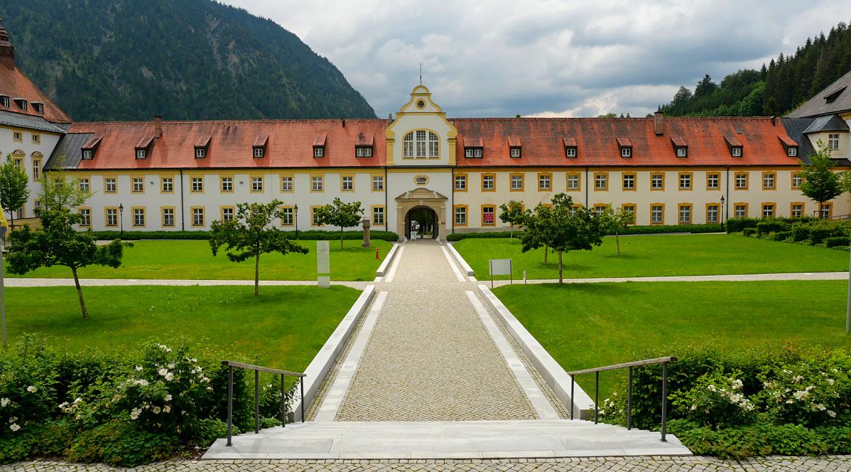 Abbaye d'Ettal road trip Bavière