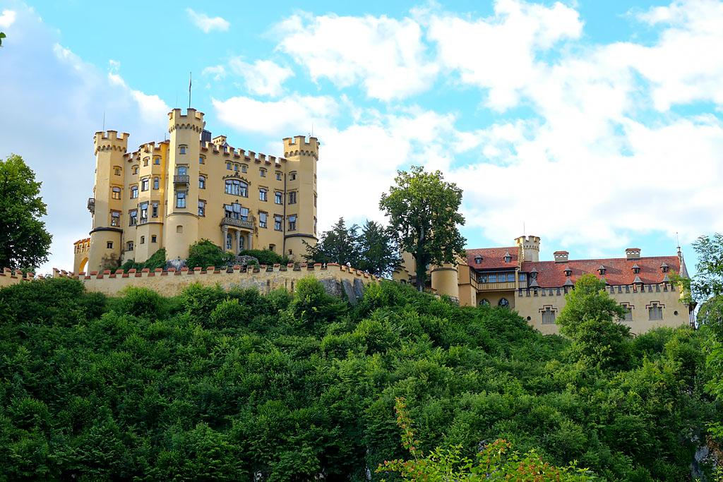 Château de Hohenschwangau Bavière Allemagne