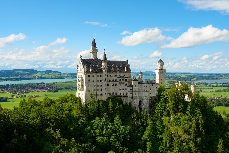 Château de Neuschwanstein Bavière Allemagne