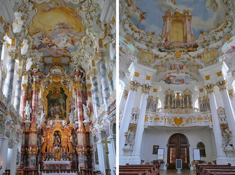 Église de Wies (Wieskirche) - Road trip Bavière